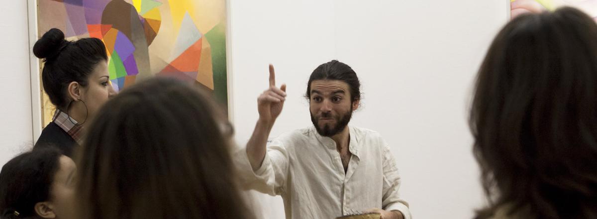 Rêverie contée au Centre Pompidou (75) - Laurent Azuelos